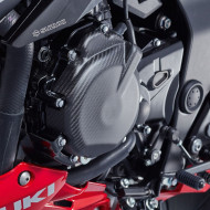 audemar:PROTECTION DE CARTER D'ALTERNATEUR EN CARBONE POUR GSX-S750