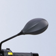 audemar:RÉTROVISEUR GAUCHE CARBONE MAT POUR BURGMAN 400