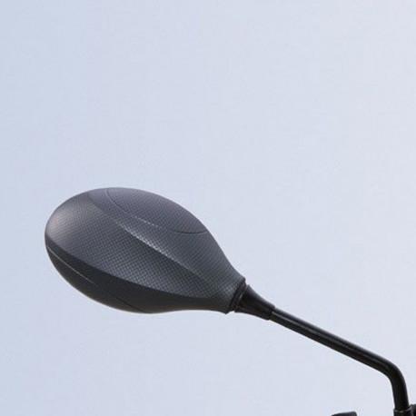 audemar:RÉTROVISEUR DROIT CARBONE MAT POUR BURGMAN 400