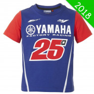 T-SHIRT ENFANT MV25 YAMAHA 2018