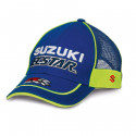 CASQUETTE FILET SUZUKI MOTOGP TEAM 2018