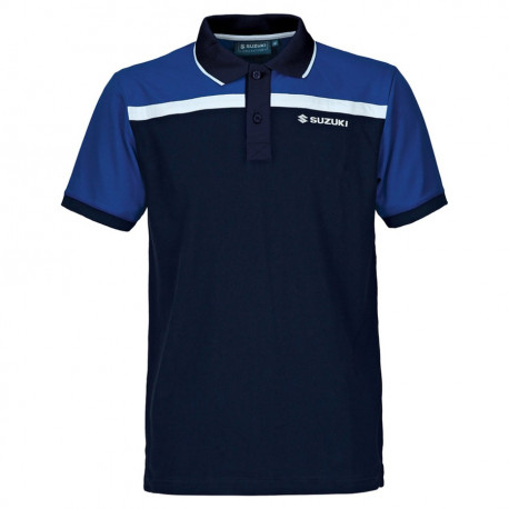 audemar:POLO HOMME SUZUKI TEAM BLUE