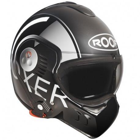 audemar:Casque ROOF Boxer V8 Grafic 2014 Noir / Gris