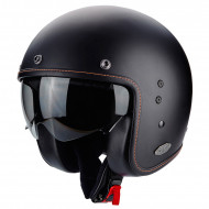 audemar:CASQUE JET SCORPION BELFAST MATT BLACK