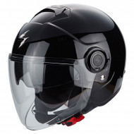 audemar:CASQUE JET SCORPION EXO CITY NOIR