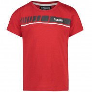 T-SHIRT ROUGE ENFANT YAMAHA REVS 2019