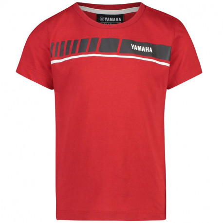 audemar:T-SHIRT ROUGE ENFANT YAMAHA REVS 2019
