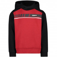 audemar:SWEAT A CAPUCHE ROUGE ENFANT YAMAHA REVS 2019