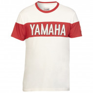 T-SHIRT ROUGE LUBBOCK POUR HOMME-YAMAHA FASTER SONS 2019
