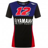 audemar:T-SHIRT FEMME YAMAHA MAVERICK VINALES MV12 2019