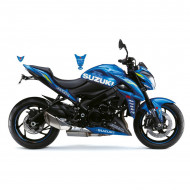 KIT DECO BRILLANT METAL ECSTAR BLEU GSX-S 1000