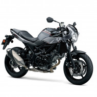 audemar:SV650X-Glass Sparkle Black/Metallic Gray
