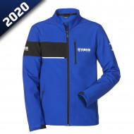audemar:VESTE SOFTSHELL HOMME LEEDS-YAMAHA PADDOCK BLUE 2020