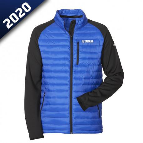 audemar:VESTE HYBRIDE HOMME CROYDON-YAMAHA PADDOCK BLUE 2020