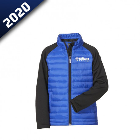 audemar:VESTE HYBRIDE ENFANT HAMBURG-YAMAHA PADDOCK BLUE 2020
