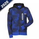SWEAT CAMO CAPUCHE HOMME SHEF-YAMAHA PADDOCK BLUE 2020