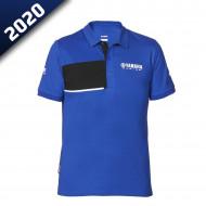 audemar:POLO PIQUÉ HOMME BRADFORD-YAMAHA PADDOCK BLUE 2020
