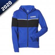audemar:SWEAT CAPUCHE HOMME CONWALL-YAMAHA PADDOCK BLUE 2020