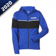 audemar:SWEAT CAPUCHE FEMME RIMINI-YAMAHA PADDOCK BLUE 2020