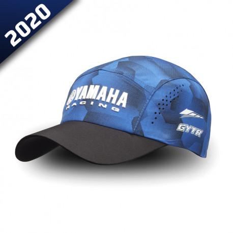 audemar:CASQUETTE CAMO ADULTE NEWHAM-YAMAHA PADDOCK BLUE 2020