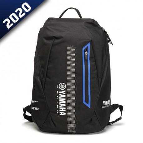 audemar:SAC A DOS NOIR RIGA-YAMAHA PADDOCK BLUE 2020