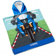 audemar:SERVIETTE PONCHO ENFANT YAMAHA RACING