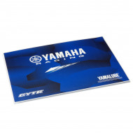 audemar:STICKER DE PROTECTION POUR ORDINATEUR PORTABLE YAMAHA RACING