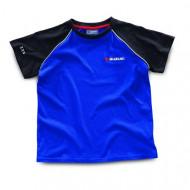 audemar:T-Shirt Enfants Suzuki Bleu/Noir