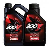 HUILE MOTEUR 5L 10W40 4T 100% Synthèse MOTUL 300V Road Racing