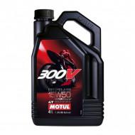 HUILE MOTEUR 4 L 15W50 4T 100% Synthèse MOTUL 300V Road Racing