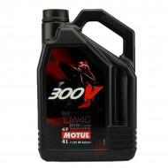 HUILE MOTEUR 4L 10W40 4T 100% Synthèse MOTUL 300V Road Racing