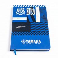 CARNET DE NOTES YAMAHA RACING (FORMAT A5)
