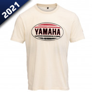 T-SHIRT FASTER SONS YAMAHA TRAVIS BEIGE POUR HOMME