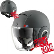 audemar:Casque Jet SHARK Nano United Gris Mat Anthracite