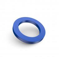 audemar:Anneau bleu pour bouchon d'huile moteur taillé dans la masse