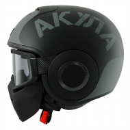 audemar:Casque Jet SHARK Raw Soyouz Noir Gris
