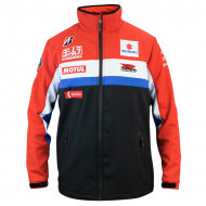 audemar:VESTE SOFTSHELL OFFICIELLE TEAM SUZUKI SERT 2021