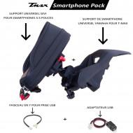PACK SUPPORT TÉLÉPHONE 4.7 POUCES POUR T-MAX 530/560