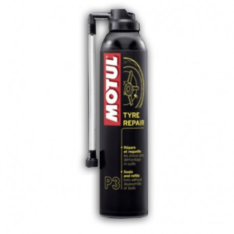 audemar:Bombe Anti-crevaison MOTUL Type Repair 300ml