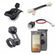 PACK SUPPORT DE GUIDON SP CONNECT POUR T-MAX 530/560 TAILLE M