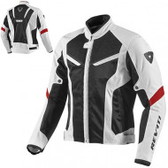 audemar:Blouson REV'IT GT-R Air Blanc et Noir