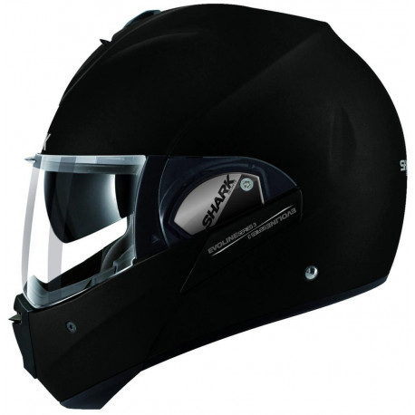 audemar:CASQUE SHARK EVOLINE SERIE3 NOIR MAT