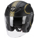 CASQUE SCORPION EXO 220 AIR BIXBY NOIR/OR