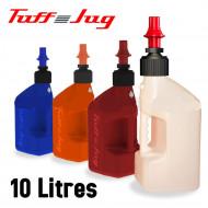 audemar:Bidon d'essence de remplissage rapide Tuff Jug transparent 10L