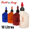 Bidon d'essence de remplissage rapide Tuff Jug transparent 10L