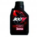 HUILE MOTEUR 1L 10W40 4T 100% Synthèse MOTUL 300V Road Racing