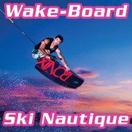 Ski nautique / Wake board / Mono-Ski Audemar Hyères Var