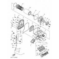 audemar:Admission, filtre à air et boitier filtre à air SSV Yamaha YXZ 1000 R 2016 et 2017 AUDEMAR