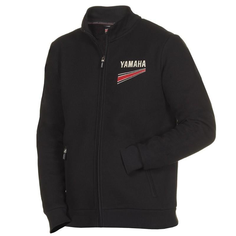 blouson moto yamaha noir les vestes la mode sont populaires partout dans le monde. Black Bedroom Furniture Sets. Home Design Ideas