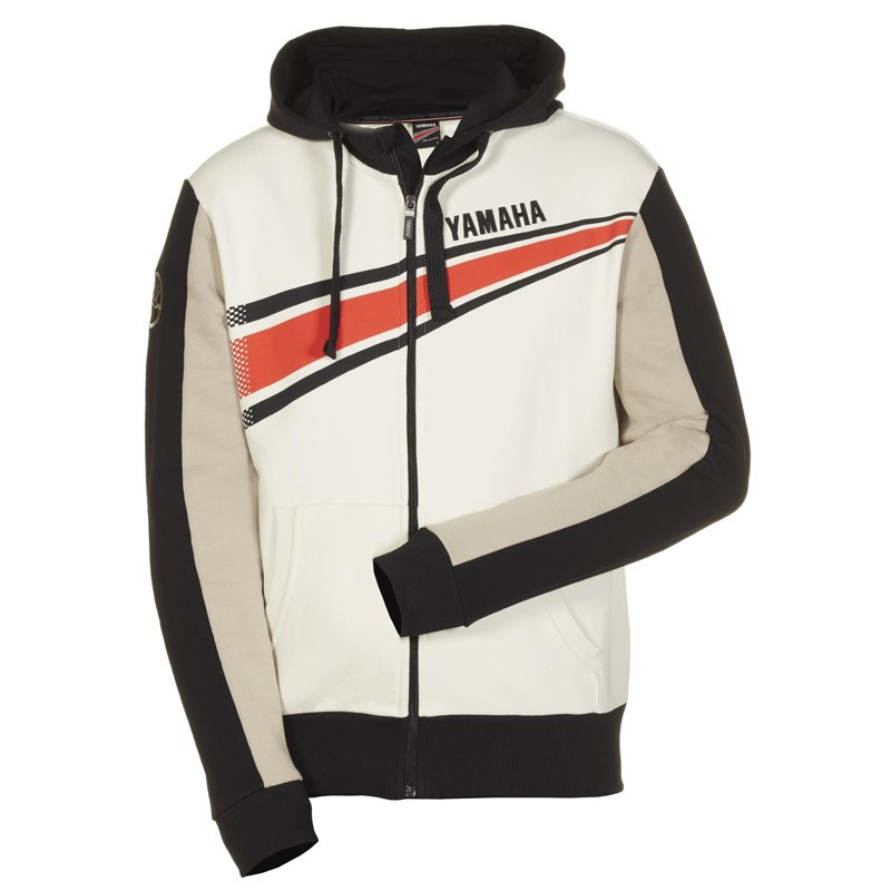 SWEAT A CAPUCHE HOMME YAMAHA REVS SIRIUS